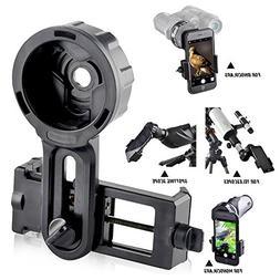 Landove Smartphone Adaptor for Spotting Scope, Telescope, Mo