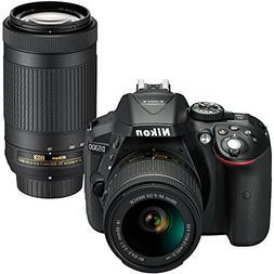 Nikon D5300 DSLR Camera with 18-55mm and 70-300mm Lenses Kit