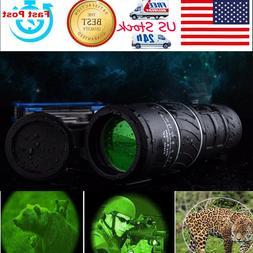 Day& Night Vision 40x60 HD Optical Monocular Hunting Camping