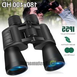 Night Version 180x100 Military Zoom Binoculars Telescopes Op