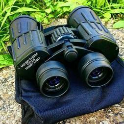 60x50 Perrini Day / Night Prism Black and Green Military Bin