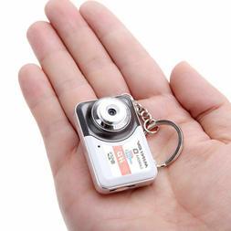 Digital Camera Portable Mini HD DV Support 32GB TF Card With