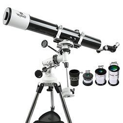 Gskyer Eq 80900 Telescope, German Technology Telescope, Star