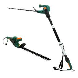 Electric Corded Telescopic Pole Hedge Trimmer 20inch Dual-Ac