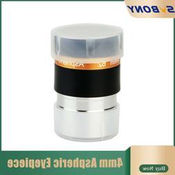 "SVBONY Eyepiece 4mm/0.16"" Wide Angle 62°Aspheric Lenses HD"