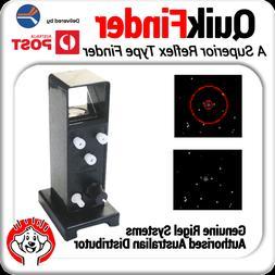Genuine QuikFinder Compact Reflex Sight / Red Dot Finder - T