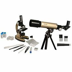 Educational Insights GeoSafari Telescope & Microscope Set, 2