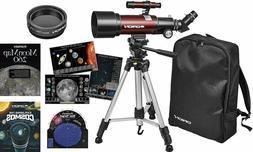 Orion Goscope III 70mm Refractor Special Travel Telescope Ki