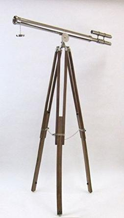 Griffith Astro Telescope in Chrome Plated Brass - 60 Inches