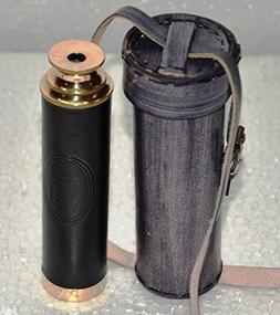Buddha4all Handheld Brass Pirate Navigation Telescope with w