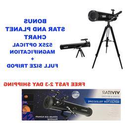 HD 525X TELESCOPE FULL SIZE TRIPOD LUNAR AND FOR STAR OBSERV