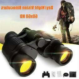 HD 60X60 Zoom Binoculars Day/Night Vision Travel Outdoor Hun