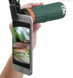 HD Phone Telescopes 9X32 Waterproof BAK4 Nitrogen Monocular