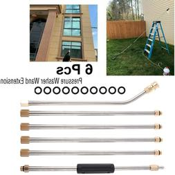 high pressure washer extension wand set 4000psi