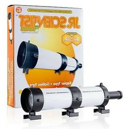 Kids Build & Learn Optical Telescope Experiment Kit & 68 pag