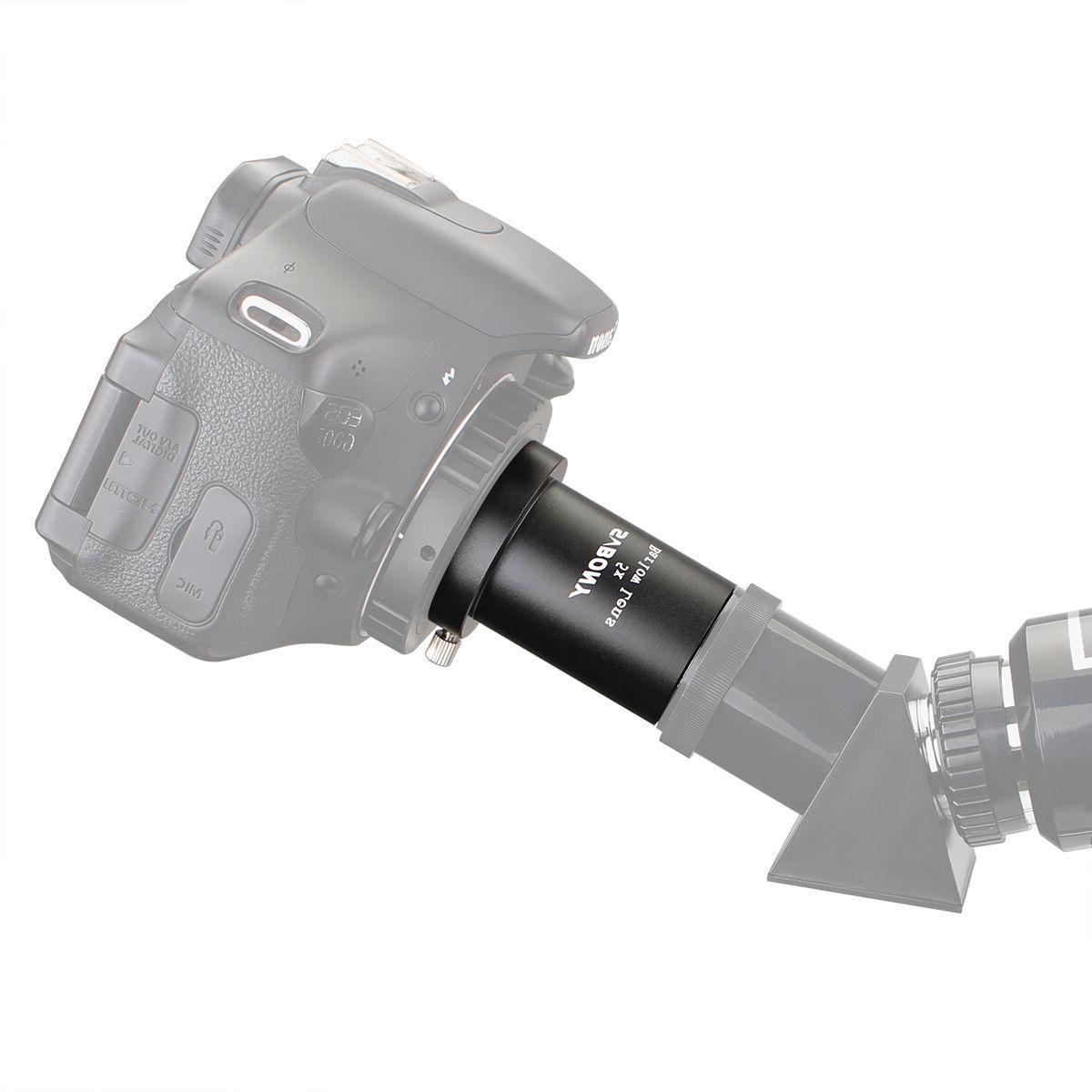 "SVbony Barlow 1.25""31.7mm for Telescope"
