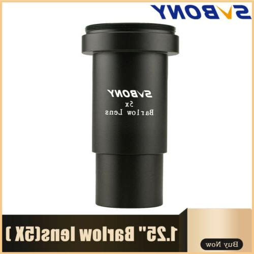 barlow lens 5x 1 25 31 7mm