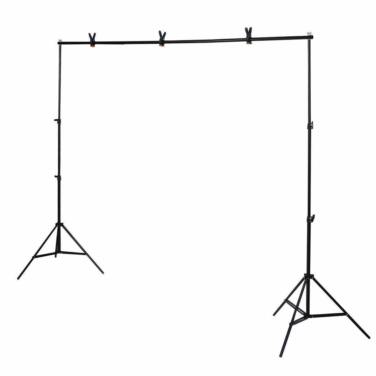10Ft Adjustable Background Kit Photography