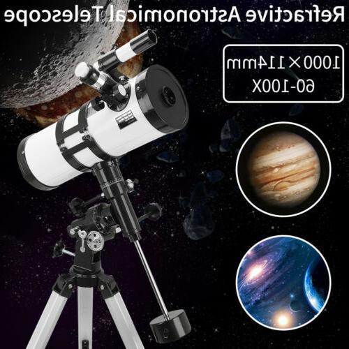 114mm astronomical telescope deep space spotting scope