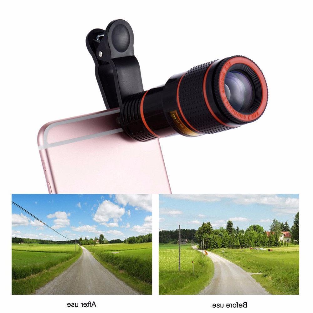 12x Optical Lens For Mobile Camera