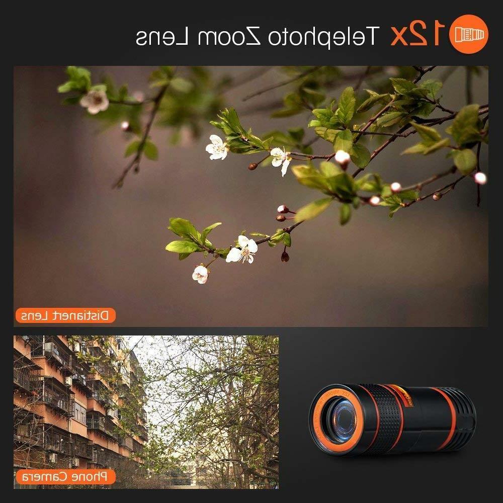 12x Telescope Telephoto Clip For Mobile Camera