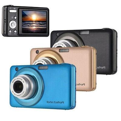 Digital 2.7 Inch LCD Screen 24MP Face Zoom