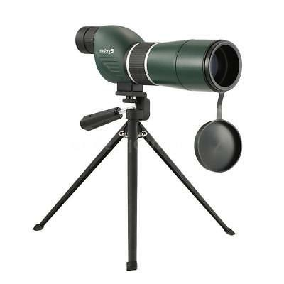 20 60x60 straight angled spotting telescope