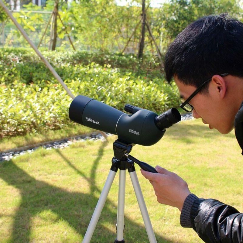 20-60x60 SV28 Monocular Scope Birdwatch Universal Phon