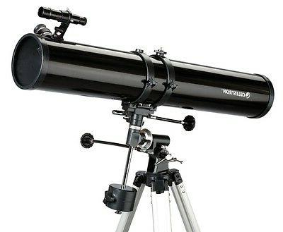 4 5 reflector telescope complete package