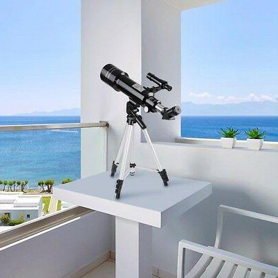 400/70mm Astronomical Refractor Refractive Eyepieces Tripod