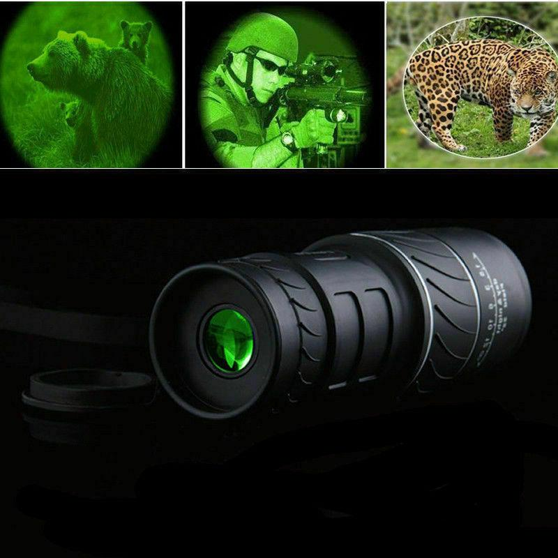 40x60 hd optical monocular hunting camping hiking