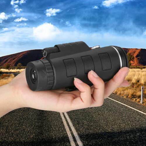 40X60 Zoom Monocular Travel