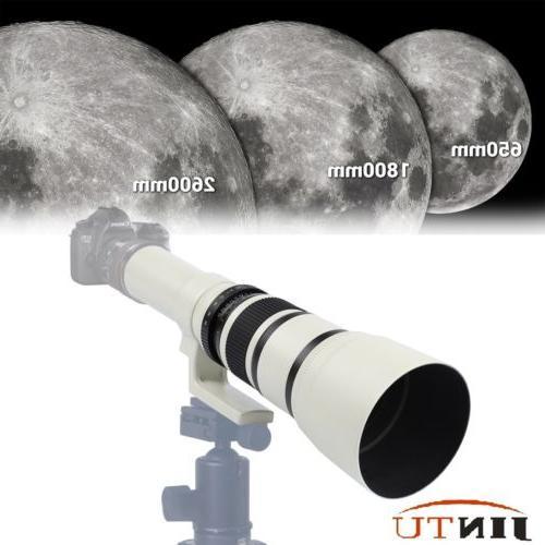 500mm f 6 3 telescopic camera lens