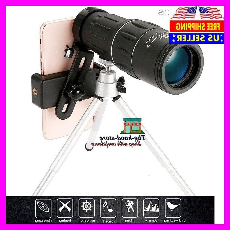5zoom high power prism monocular telescope