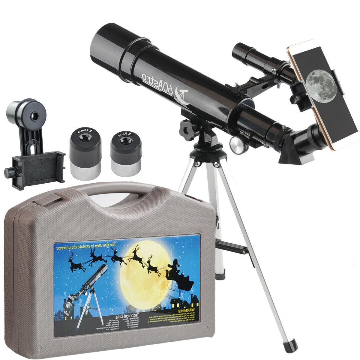 Gosky 60 Refractor Telescope 60x360mm Monocular Scope with T