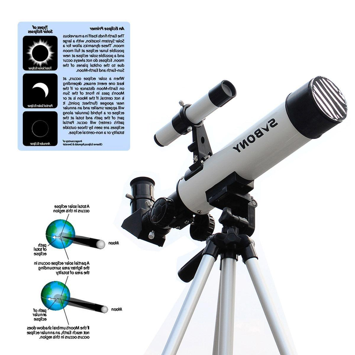 60mm f7 solar eclipse refractor telescope