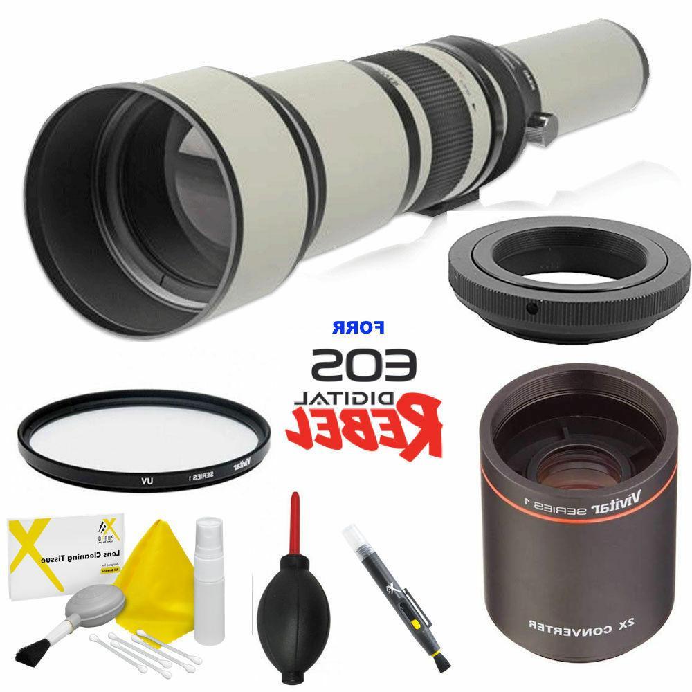 650 2600mm hd telephoto telescopic zoom lens