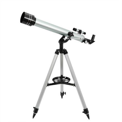 700 60mm astronomical refractor telescope refractive eyepiec