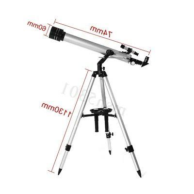 700/60mm Refractive Astronomical Telescope Tripod Eyepiece