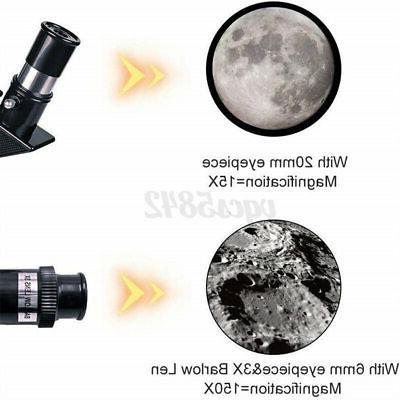 70mm 150X Astronomical Telescope Refractor Phone
