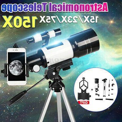 70mm 150X Telescope Refractor Phone