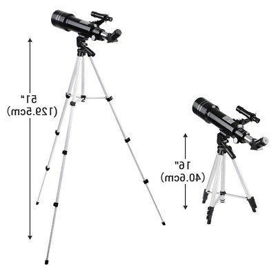 400/70mm Refractor Refractive Tripod