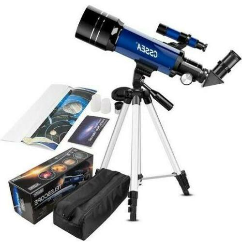 70mm telescope for kids and astronomy beginners