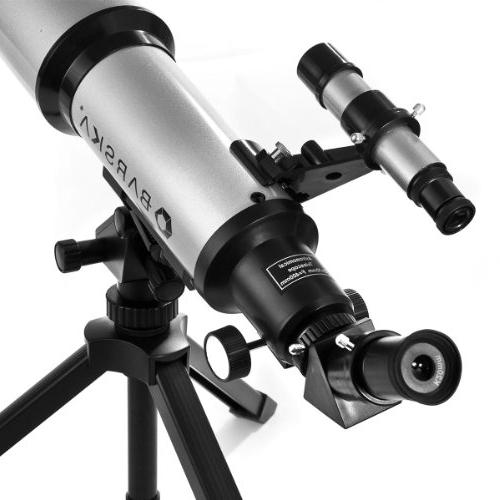 BARSKA 400x70mm Telescope Tripod & Carry
