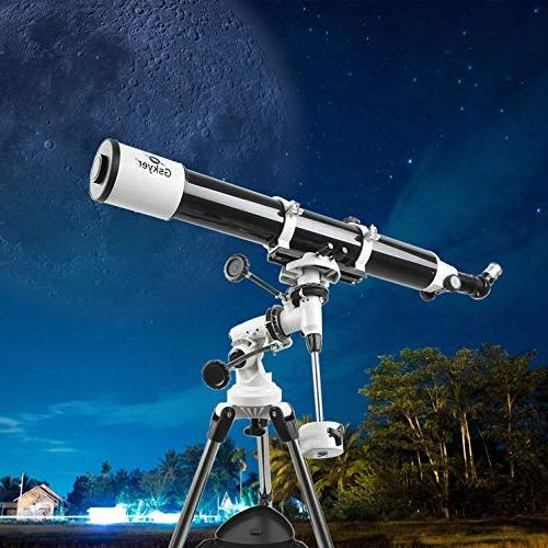 Gskyer Telescope, German Telescope,Starwatcher Refractors