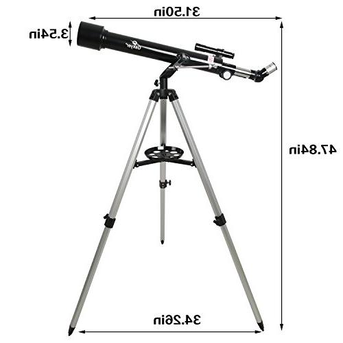 Gskyer Instruments 60mm AZ Telescope, German Travel Scope