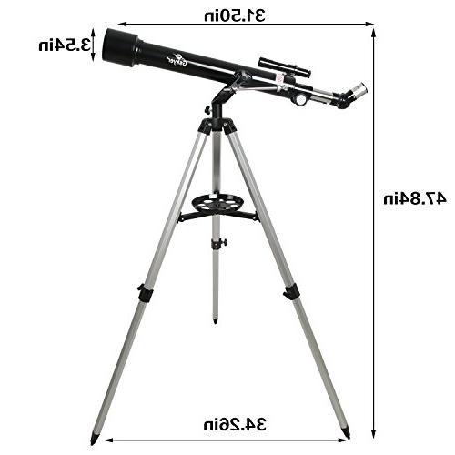 Gskyer Instruments 60mm AZ Telescope, German Travel Scope