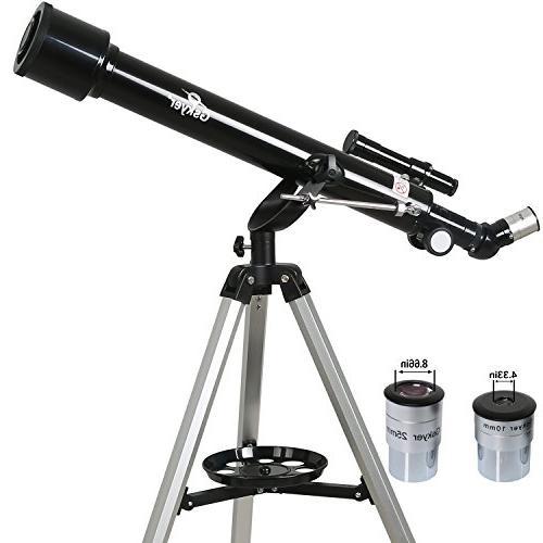 Gskyer Telescope, 60mm Refractor German