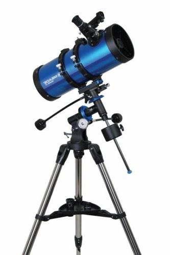 Meade Polaris German Telescope - Blue/black