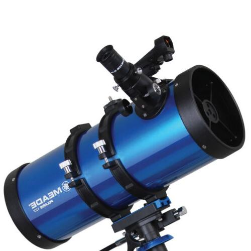 Meade - German Telescope - Blue/black